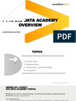 Big Data Academy Overview Deck 032918 Updated