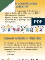 Exposicion Historia de La Psicologia Educativa_final