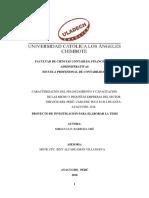 Caracterizacion de Las Mypes Del Sector Servicios Del Perúcaso Edu Pluz e.i.r.l Huanta-Ayacucho,2018