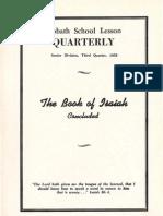 SDARM Bible Study Qtr. 3 1958