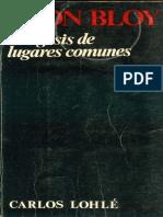 Exegésis de Los Lugares Comunes - Léon Bloy