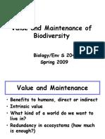 Biol204Value&Maintenance.ppt