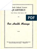 SDARM Bible Study Qtr. 4 1958