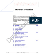 Icm-En-1600 - Field Instrument Installation