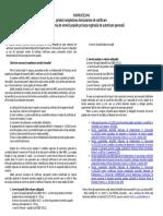 Instructiuni Formular Posta