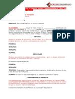 Modelo de Derecho de Peticion