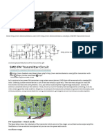 SMD FM Transmitter Circuit
