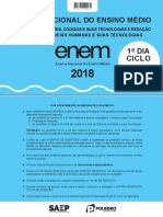 Enem - Ciclo 1 - Prova i - Resoluções