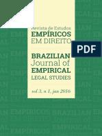 2016 - V3 N1 - Revista de Estudos Empíricos Em Direito