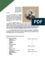 EL COMPOSITOR DE BIARRITZ, HENRI LUTZ (1864-1919). Fernando Abaunza