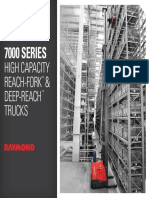 Raymond7000 Series High Capacity Reach Trucks Brochure