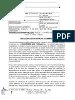Demanda de Reposicion Por Desnaturalizacion de Contrato