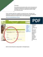 Guia de aplicación para el examen de diagnóstico Oxford