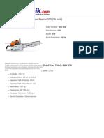 Jual Harga Stihl Gergaji Mesin Chainsaw Bensin 070 (36 inch) INDOTEKNIK.COM | Toko Teknik Perkakas Online