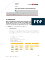 Sector Agropecuario y Agroindustrial
