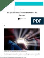 80 ejercicios de comprensión de lectura - Aprende.pdf