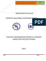 Plan de Contingencia Hospital Nacional Cayetano Heredia