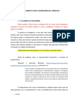 Artigo - Poliamorismos e Suas Consequências Jurídicas