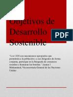 17 Objetivos Del Desarrollo Sostenible