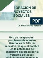 Conferencia Elab Proy Sociales