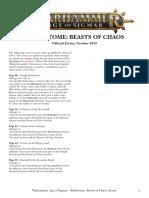 Age of Sigmar Beasts of Chaos Errata En
