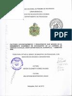 FACTORES SOCIOECONÓNIICOS Y PEDAGÓGICOS QUE INCIDEN EN EL RENDIMIENTO ACADEMICO.pdf