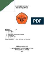 (Tugas) Fitoterapi - Resume Jurnal Kelompok 6