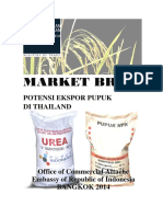 Thailand Expor Opportunity