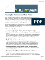 Neuro Myths
