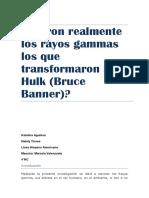 Rayos Gamma HULKk