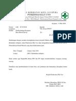 Surat Pemberitahuan Mbs