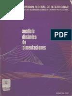 Analisis Dinamico de Cimentaciones