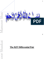 J 20160714 the BJT Differential Pair