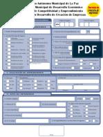 1. Manufactura en Marcha - Formulario de Registros