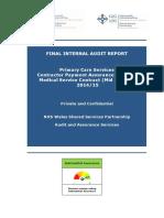 Audit Report Template