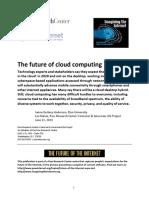 PIP Future of Internet 2010 Cloud