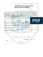 Acta de Constitución Consejo Escolar 2017