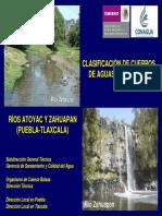 CLASIFICACIÓN DE CUERPOS DE AGUAS NACIONALES