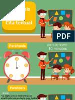 Parafrasis y Cita Textual