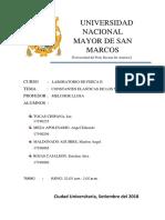 INFORME 1 LABoratorio de Fisica 2