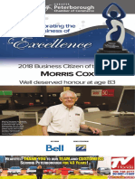 2018 Greater Peterborough Chamber of Commerce Business Excellenace Awards Page 1