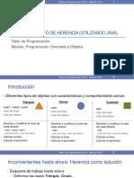 Tema 5 - Concepto Herencia en Java 2018