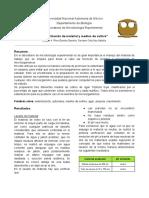 P3. Esterilización de Material y Medios de Cultivo