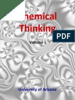 Chemical Thinking I