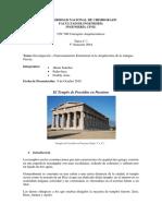 Investigacion Templo de Poseidon