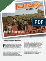 Italian Migration