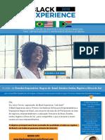Black Experience PDF Apresentação