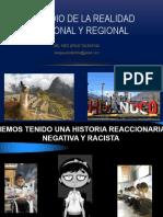estudio de la realidad nacional y regional Peru