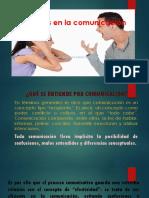 Conflictos en La Comunicación