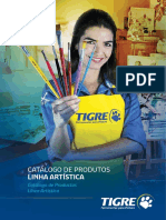 Tigre Catalogo Pinceis